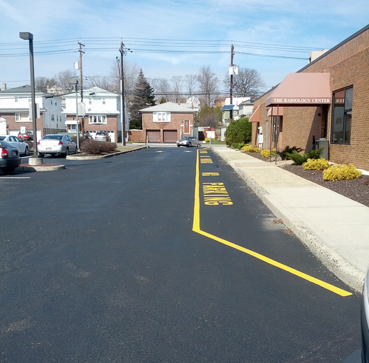 Commercial Parking lot Sealcoating